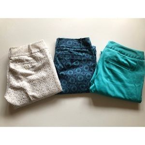 Lot of 3 The Limited Capris